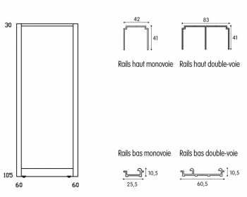 quelle fixation choisir pour ma porte coulissante. Black Bedroom Furniture Sets. Home Design Ideas